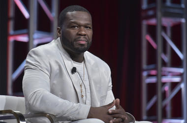 """Curtis """"50 Cent"""" Jackson participates in the Starz """"Power"""" panel at the Television Critics Association Summer Press Tour on Friday, July 26, 2019, in Beverly Hills, Calif. (Photo by Richard Shotwell/Invision/AP)"""