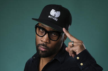 "In this Friday, July 26, 2019 file photo, Wu-Tang Clan member RZA, an executive producer of the Hulu miniseries ""Wu-Tang: An American Saga,"" poses for a portrait during the 2019 Television Critics Association Summer Press Tour at the Beverly Hilton, in Be"