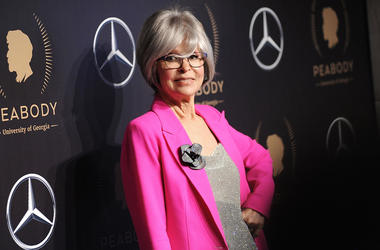 This May 18, 2019 file photo shows actress Rita Moreno at the 78th annual Peabody Awards in New York. (Photo by Brad Barket/Invision/AP, File)