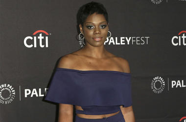 "This Sept. 8, 2019, file photo shows Afton Williamson attending the PaleyFest Fall TV Previews of ""The Rookie"" at The Paley Center for Media in Beverly Hills, California. (Photo by Willy Sanjuan/Invision/AP, File)"