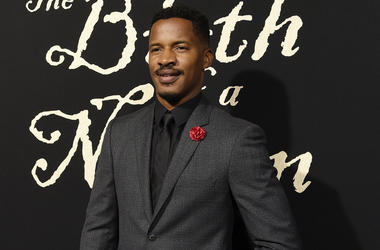 "This Sept. 21, 2016 file photo shows Nate Parker, the director, screenwriter and star of ""The Birth of a Nation"" at the premiere of the film in Los Angeles. (Photo by Chris Pizzello/Invision/AP, File)"