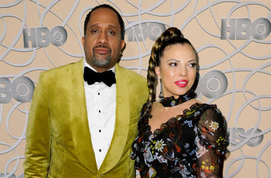 """In this Jan. 8, 2017, file photo, Kenya Barris, left, and Dr. Rania """"Rainbow"""" Barris arrive at the HBO Golden Globes afterparty in Beverly Hills, California. (Photo by Richard Shotwell/Invision/AP, File)"""