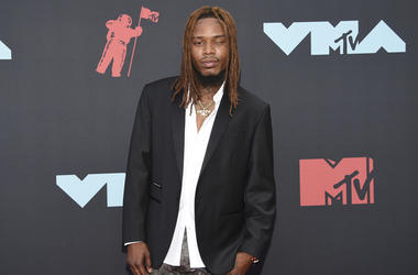 Fetty Wap arrives at the MTV Video Music Awards at the Prudential Center on Monday, Aug. 26, 2019, in Newark, N.J. (Photo by Evan Agostini/Invision/AP)