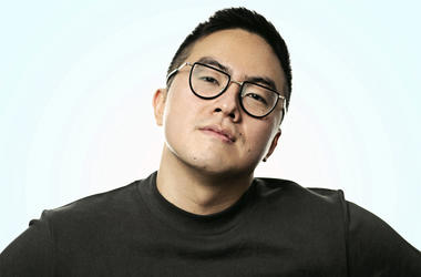 """This undated image released by NBC shows Bowen Yang who, along with Chloe Fineman and Shane Gillis, will join the cast of """"Saturday Night Live,"""" premiering its 45th season on Sept. 28. (Alex Schaefer/NBC via AP)"""