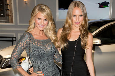 In this Sept. 4, 2013 file photo, Christie Brinkley and her daughter Sailor Brinkley Cook arrive at the 2013 Style Awards in New York. (Photo by Ben Hider/Invision/AP, File)