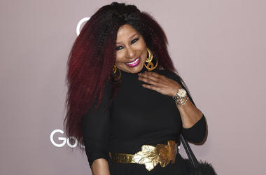 Chaka Khan arrives at Variety's Power of Women on Friday, Oct. 11, 2019, at the Beverly Wilshire hotel in Beverly Hills, Calif. (Photo by Jordan Strauss/Invision/AP)