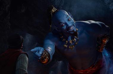 Will Smith and Mena Massoud in 'Aladdin'