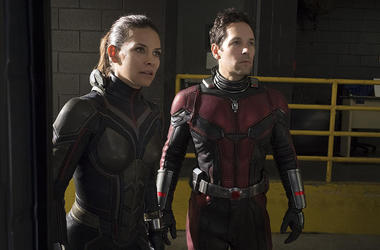 """Evangeline Lilly and Paul Rudd in """"Ant-Man and the Wasp"""""""