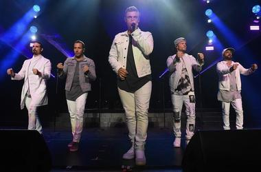 Backstreet Boys (Photo credit: Nicholas Hunt / Staff)