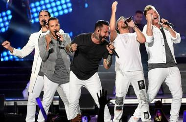 Backstreet Boys (Photo credit: Kevin Winter)