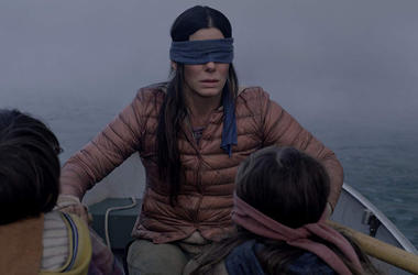 Sandra Bullock in 'Bird Box' (Photo credit: Netflix)