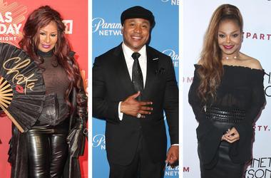 Chaka Khan, LL Cool J and Janet Jackson (Photo credits: Joe Russo/imageSPACE/F. Sadou/AdMedia/Scott Kirkland/PictureGroup)