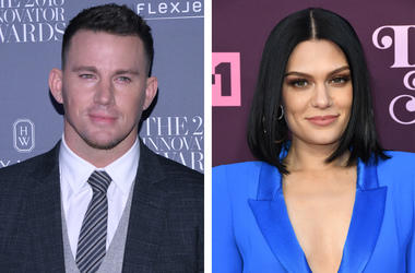 Channing Tatum and Jessie J (Photo credit: Anthony Behar/Sipa USA/Birdie Thompson/AdMedia)