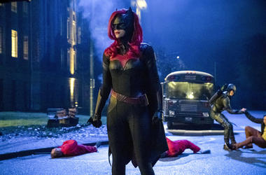 Ruby Rose as Kate Kane/Batwoman (Photo credit: Jack Rowand/The CW)