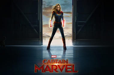 Brie Larson as 'Captain Marvel' (Photo credit: Marvel Studios/Disney)