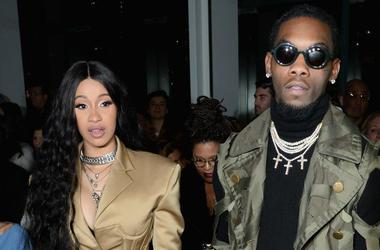 Cardi B and Offset (Photo credit: Andrew Toth/Stringer)