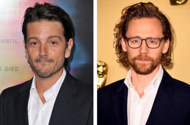 Diego Luna and Tom Hiddleston © Sipa USA / © Press Association