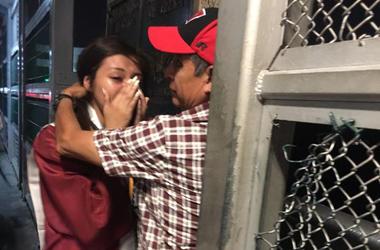 Sarai Ruiz and her father Esteban Ruiz