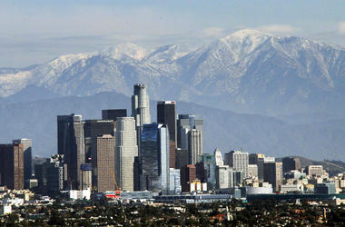 California officials announced that greenhouse gas emissions had been lowered below 1990 levels years ahead of schedule. (Photo credit: AP Photo/Nick Ut)