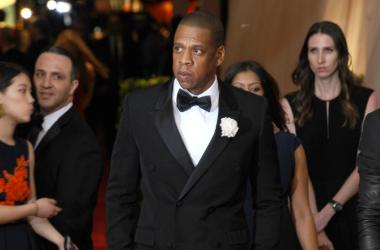 Jay- Z arrives at the 2015 Costume Institute Gala Benefit celebrating 'China: Through The Looking Glass' held at the Metropolitan Museum Of Art in New York, NY on May 4th, 2015.