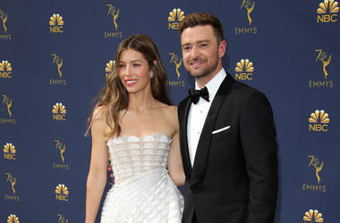 Jessica Biel and Justin Timberlake - © Dan MacMedan-USA TODAY