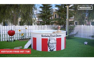 The KFC Hot Tub