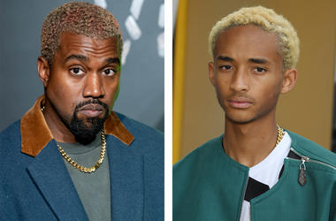Kanye West and Jaden Smith (Photo credit: Roy Rochlin/Pascal Le Segretain/Getty Images)