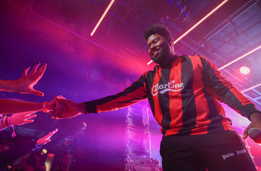 Khalid performs at the Uber Eats house during SXSW on March 14, 2019 in Austin, Texas