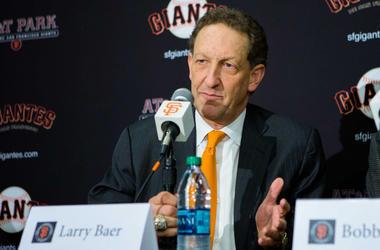 Larry Baer (Photo credit: John Hefti-USA TODAY Sports)