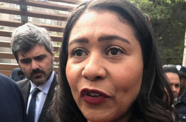 San Francisco Mayor London Breed (Photo credit: Doug Sovern/KCBS Radio)
