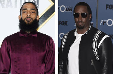 Nipsey Hussle and Diddy (Photo credit: Amanda Edwards/Getty Images/Fox/PictureGroup/Sipa USA)