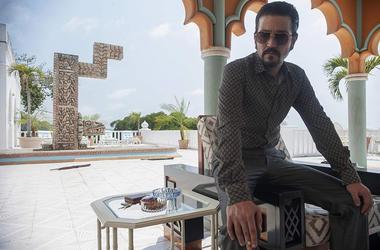 Diego Luna as Félix Gallardo in 'Narcos: Mexico' (Photo credit: Carlos Somonte/Netflix)