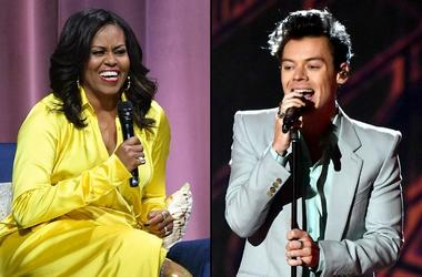 Michelle Obama and Harry Styles
