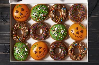 Krispy Kreme's Ultimate Halloween Doughnut Collection