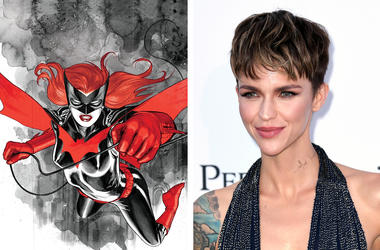 DC Comic's Batwoman and actress Ruby Rose (Photo by DC Comics/PA Images/Sipa USA)
