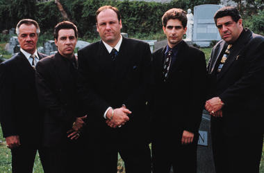 Cast of 'The Sopranos' (Photo credit: HBO)