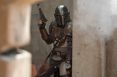 Pedro Pascal in 'The Mandalorian' (Photo credit: François Duhamel/Lucasfilm)
