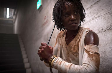 Lupita Nyong'o in a scene from Jordan Peele's 'Us' (Photo credit: Claudette Barius/Universal Pictures)