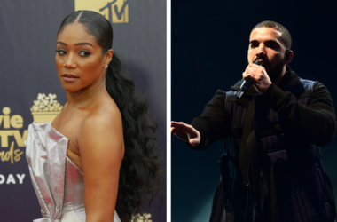 6/16/2018 - Tiffany Haddish attending the 2018 MTV Movie and TV Awards held at the Barker Hangar in Los Angeles, USA. / Drake, who has delighted thousands of high school youngsters in the US as he made a surprise appearance to film a music video.