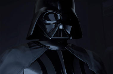 "Darth Vader in ""Vader Immortal"" (Photo credit: ILMxLAB/Lucasfilm)"