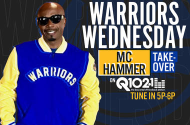 MC Hammer Takes Over Q102