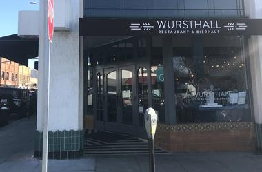 Wursthall | Restaurant & Bierhaus (Photo credit: Keith Menconi/ KCBS Radio)