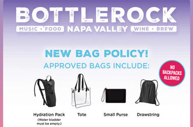 BottleRock Announces New Bag Policy For Festival