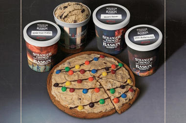 Baskin Robbins release of Stranger Things ice cream