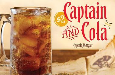 Applebee's Captain & Cola