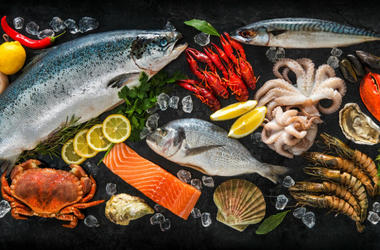 Various Fish and Seafood (Photo credit: ©Alexander Raths)