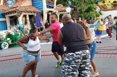 Security Lags as Violent Brawl Breaks Out In 'Happiest Place on Earth' (Photo credit: KNX1070)