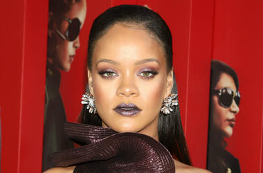"""Rihanna attends the premiere of """"Ocean's 8"""" at Alice Tully Hall in New York."""