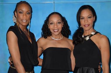 En Vogue: (L-R) Rhona Bennett, Terry Ellis, Cindy Herron