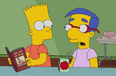 The Simpsons 'No Good Read Goes Unpunished'